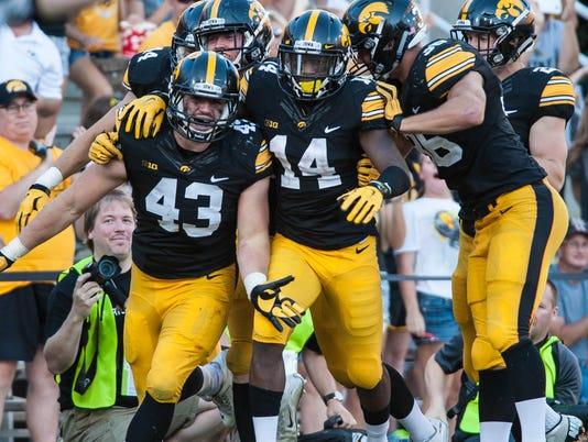 NCAA Football: North Texas at Iowa