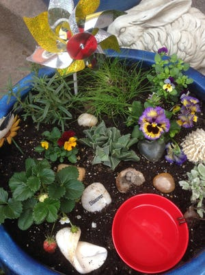 You can build your own sensory garden in nearly any space.
