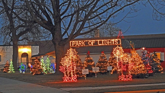 Algoma's Park of Lights located at Legion Park, 620 Lake St., won the Best Non-Profit category. Wisconsin