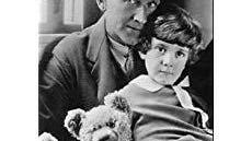 Alan Alexander Milne with his son, Christopher Robin and his teddy bear. Known professionally as A.A. Milne, he was a playwright, but his stories about Winnie-The-Pooh made him famous. Milne was also in the military and served in both World Wars.