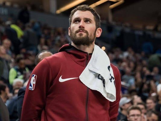 NBA: Cleveland Cavaliers at Minnesota Timberwolves