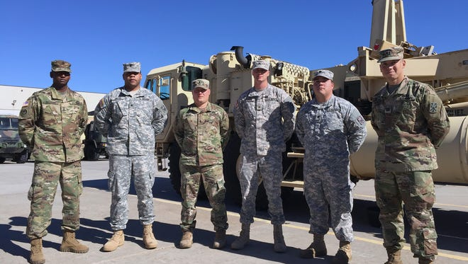Members of Bravo-2 THAAD are returning from their deployment to Guam.