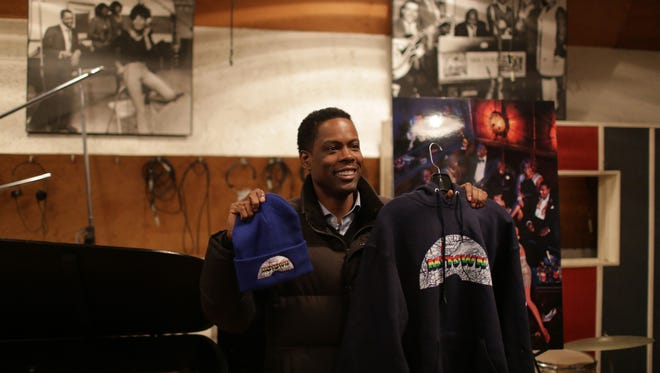 Chris Rock during a 2014 visit to the Motown Museum in Detroit.