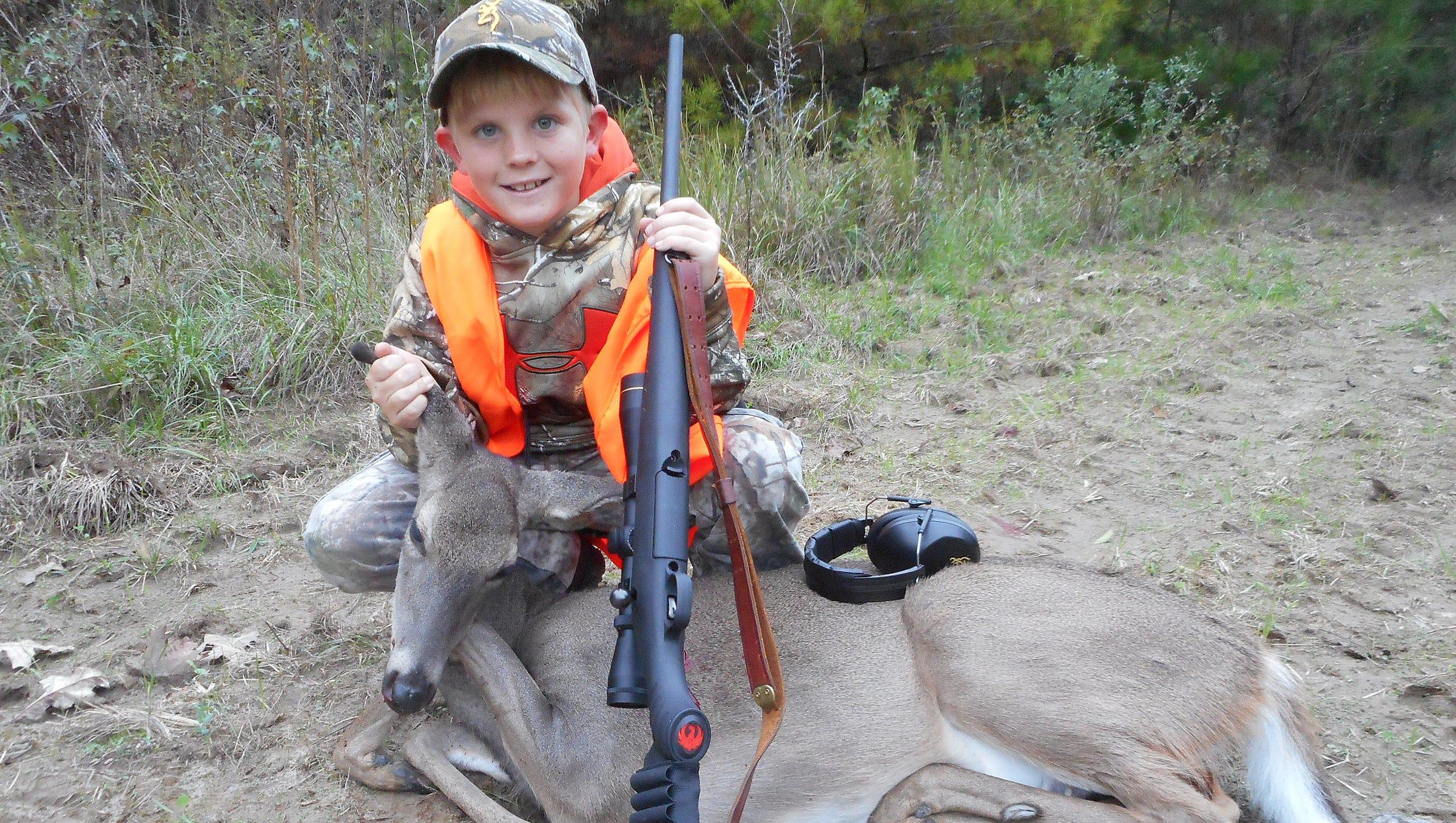 Kids And Deer Hunting