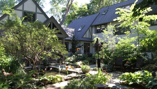 Kathy and Skip Creveling of Pittsford have over 270 varieties of Hostas around their home.