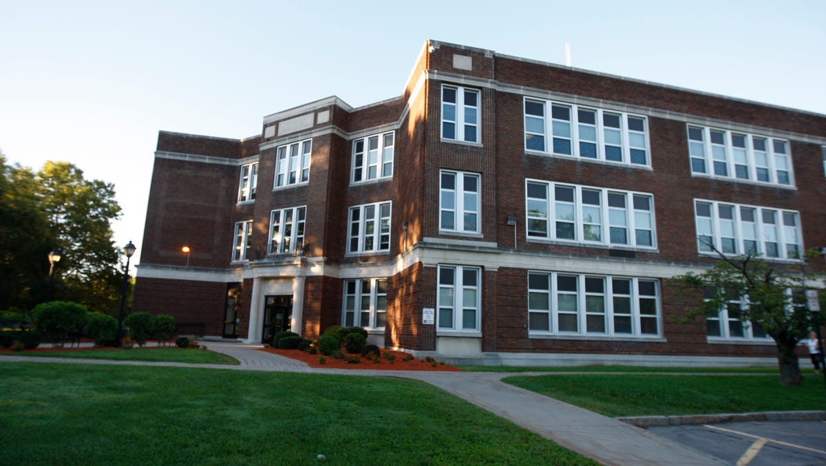 Webster Central School District offices are based at Spry Middle School in Webster.