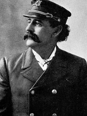 Captain William W. Cook rescued 26 people from wrecks along Provincetown's back shore, including a young girl who was later adopted by the keeper and his wife.