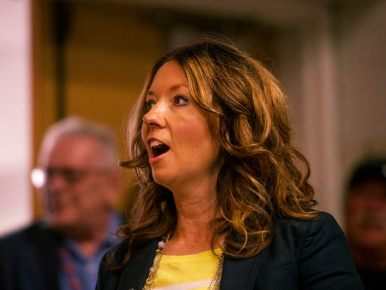 Principal Kristina Eichelholz walks into a surprise