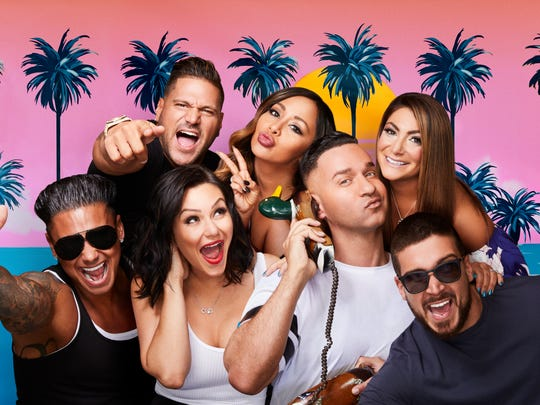 The cast of MTV's 'Jersey Shore Family Vacation.'