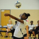 Thurston's Carmia Lowe executes a perfect pass during a match earlier this season.