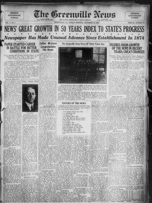 The Greenville News on Dec. 30, 1923.
