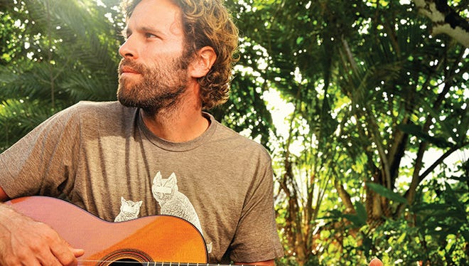 Jack Johnson is easygoing, but he gets stoked about oranges from his backyard, his neighbor's breadfruit hummus, the water catchment system and nurdles.