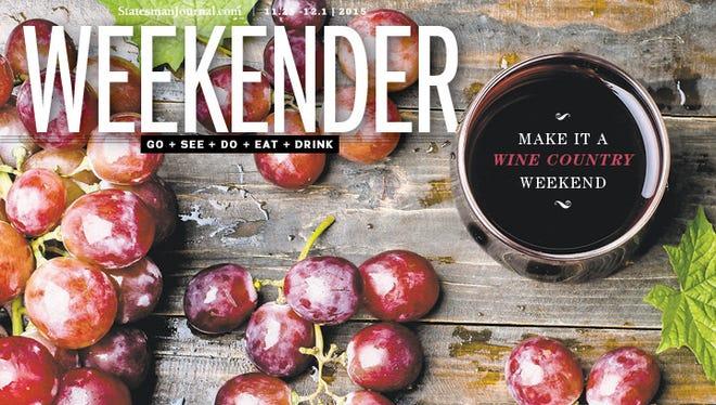 New Weekender begins Nov. 25.