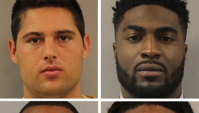 "Clockwise from left: Brandon Vandenburg, Cory Batey, Brandon E. Banks and Jaborian ""Tip"" McKenzie were convicted in the June 23, 2013, rape of a woman in a Vanderbilt University dorm room."