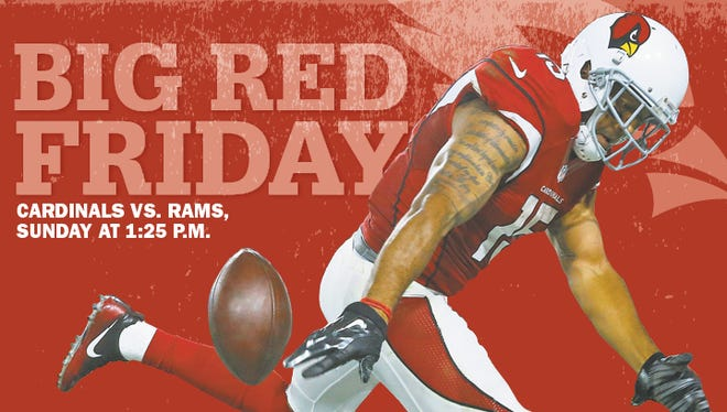Michael Floyd on this week's cover of Big Red Friday.