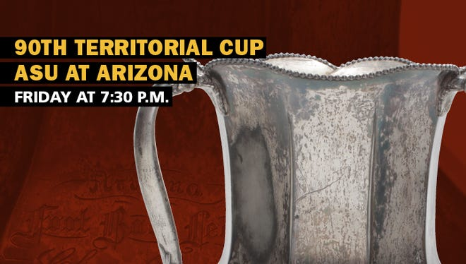 Arizona State and Arizona will meet for the 90th Territorial Cup on Friday.