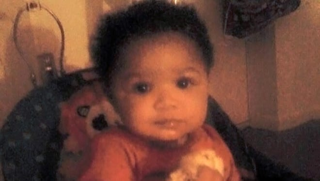 Glenara Bates weighed 13 pounds when she died. Her parents are charged in her death.