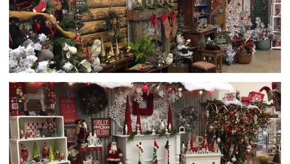 The Christmas display at South Salem Ace Hardware is