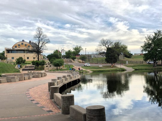 In 2017 the Concho River Walk was designation as one