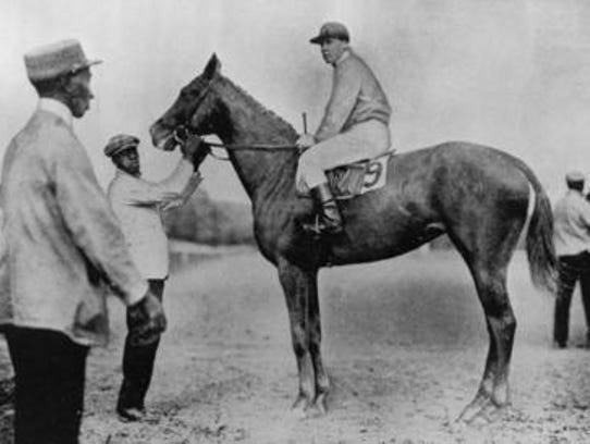 Regret in 1915 became the first filly to win the Kentucky