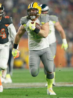 Green Bay Packers fullback John Kuhn made his second Pro Bowl earlier this year.
