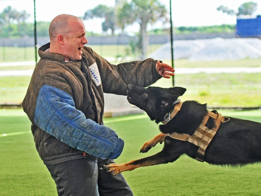 Dog training facility at PAFB