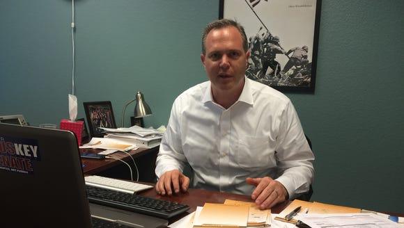 Scottsdale Republican Alex Meluskey is challenging