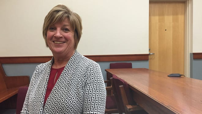 Cindy Cameron, who currently serves as president of the Tri-Valley School Board, will take over the county commissioner seat left vacant by Todd Sands. Cameron said her major focus will be improving area schools.
