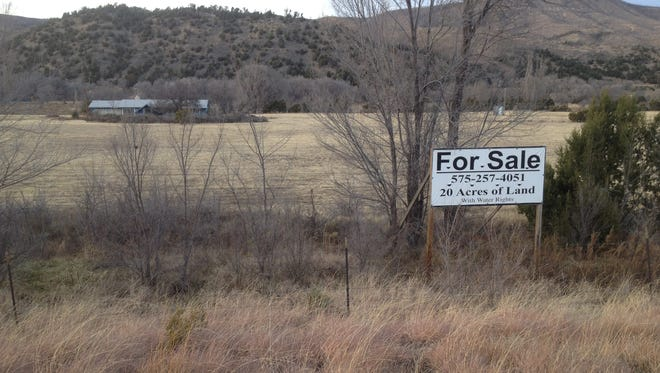 Ruidoso school district authorities plan to trade this site on U.S. 70 for a smaller plot near Sierra Vista Primary school.