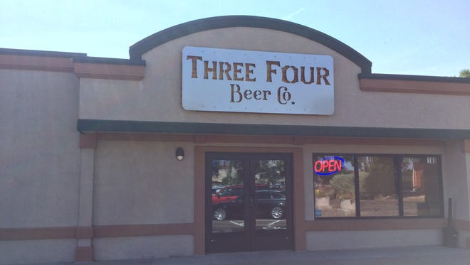 Three Four Beer Co. has started brewing its own beer and will release its first lineup on Aug. 26.
