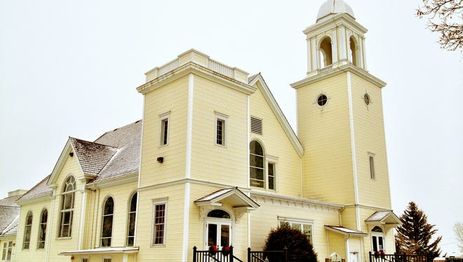 The Manhattan Christian Reformed Church in Churchill, about 19 miles west of Bozeman, was built in 1910 for $24,378. It has a seating capacity of 600.