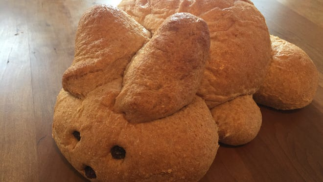 Honey Bunny bread from Great Harvest Bread Co. for Easter