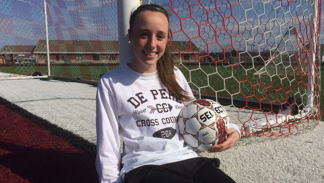 De Pere senior Anna Boyd earned Fox River Classic Conference offensive player of the year honors last season.