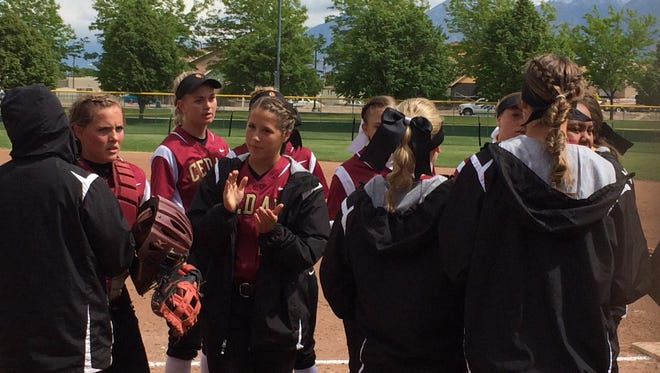 Cedar's upset bid fell short in a 11-5 loss to top-ranked Juab in the 3A state softball tournament on Friday at the Spanish Fork Sports Complex.