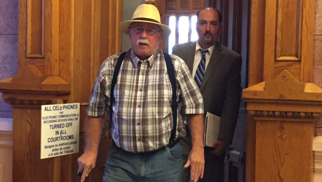 Dennis L. Hansen leaves Tippecanoe Superior 5 on June 26 after pleading guilty to cruelty to animals.