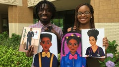 Terrence and Constance Price created Moe Melanin to
