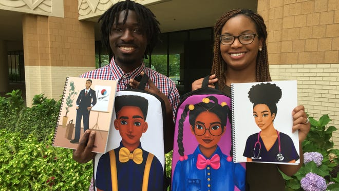 Terrence and Constance Price created Moe Melanin to inspire black children with positive images of African-Americans in academic and professional settings.