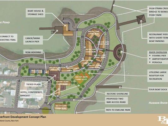 Haverstraw village's waterfront development concept