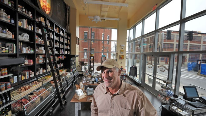 Tom Morales, owner of Acme Feed & Seed and The Southern, opened a specialty urban market, The Southernaire, in the Pinnacle building in downtown Nashville.