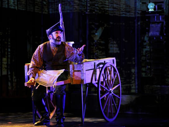 "Tickets for three performances of ""Fiddler on the Roof"""