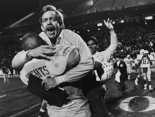 Pat Farrell, a national Hall of Fame coach who led Phoenix St. Mary's to four state football championships retired in 2007.