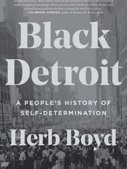 Book cover, Black Detroit: A People's History of Self-Determination