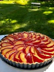 Fresh plums make for a luscious summer dessert, baked