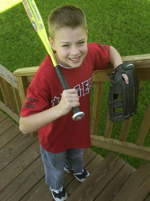 2004 FILE -- Kyle Castner, an 8-year-old, was diagnosed with Juvenile Type 1 diabetes a little over a year ago and his daily life story is one of incredible courage.