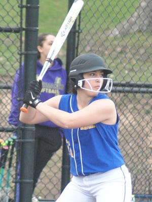 Eastern Christian senior Brianna Altamuro had two RBI in the 9-3 victory over St. Dominic in the North Non-Public B quarterfinals.