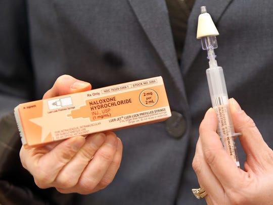 Naloxone, an antidote to opioid drug overdoses, saveslives
