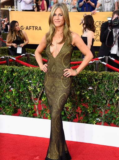 Jennifer Aniston in vintage Galliano:  We've got two