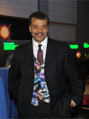 Neil deGrasse Tyson will bring his multimedia science show to the Fox Theatre on Thursday.