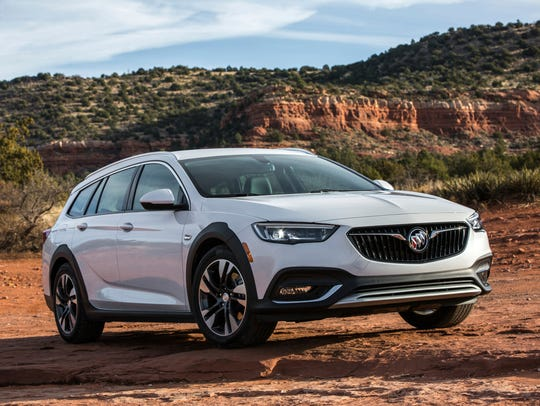The 2018 Buick Regal TourX, a station wagon-based SUV