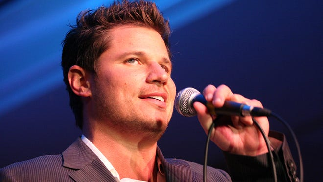 Cincinnati recording artist and restaurateur Nick Lachey can't vote on Issue 3: He's not registered to vote in Ohio.
